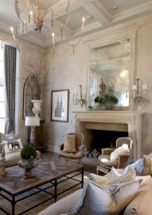 Perfect French Country Living Room Design Ideas44