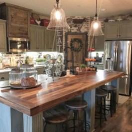 Pretty Farmhouse Kitchen Makeover Design Ideas On A Budget03