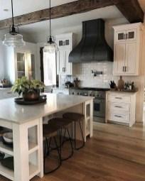 Pretty Farmhouse Kitchen Makeover Design Ideas On A Budget11