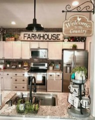 Pretty Farmhouse Kitchen Makeover Design Ideas On A Budget12