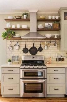 Pretty Farmhouse Kitchen Makeover Design Ideas On A Budget14