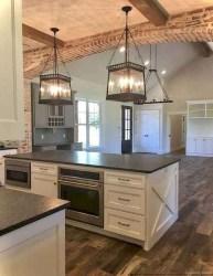 Pretty Farmhouse Kitchen Makeover Design Ideas On A Budget19