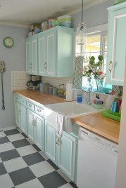 Pretty Farmhouse Kitchen Makeover Design Ideas On A Budget28