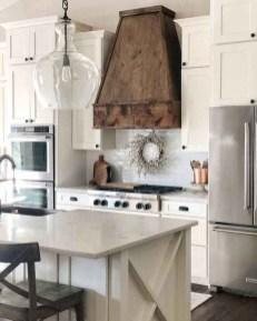 Pretty Farmhouse Kitchen Makeover Design Ideas On A Budget30