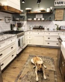 Pretty Farmhouse Kitchen Makeover Design Ideas On A Budget31