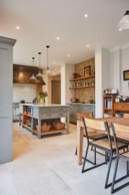 Pretty Farmhouse Kitchen Makeover Design Ideas On A Budget37