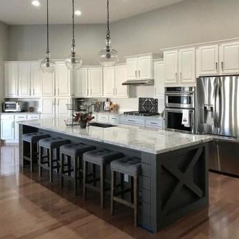 Pretty Farmhouse Kitchen Makeover Design Ideas On A Budget44