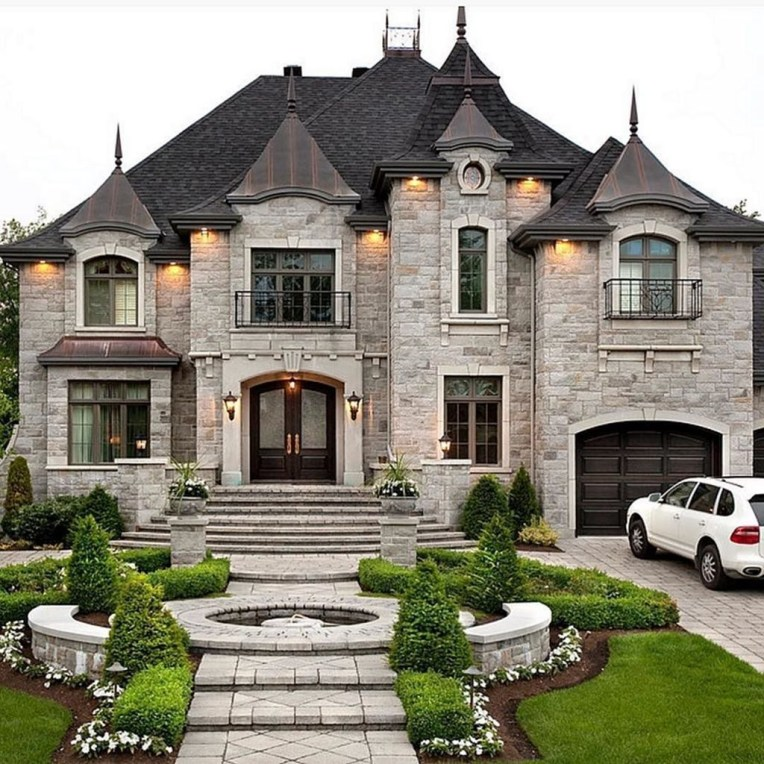 Pretty Stone House Design Ideas On A Budget06