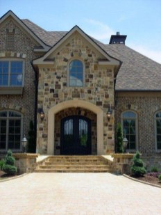 Pretty Stone House Design Ideas On A Budget26