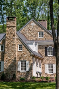 Pretty Stone House Design Ideas On A Budget37