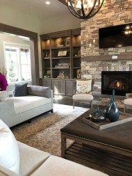 Relaxing Living Rooms Design Ideas With Fireplaces09