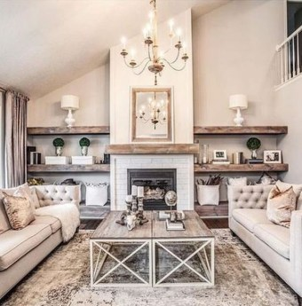 Relaxing Living Rooms Design Ideas With Fireplaces14
