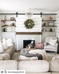 Relaxing Living Rooms Design Ideas With Fireplaces45