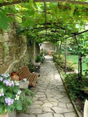Rustic Front Yard Landscaping Ideas31