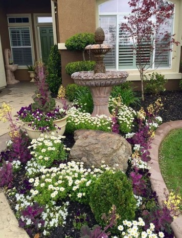 Rustic Front Yard Landscaping Ideas38