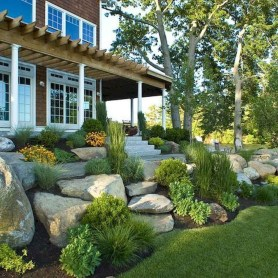 Rustic Front Yard Landscaping Ideas43