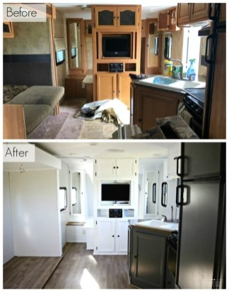 Shabby Chic Trailer Makeover Renovation Ideas08