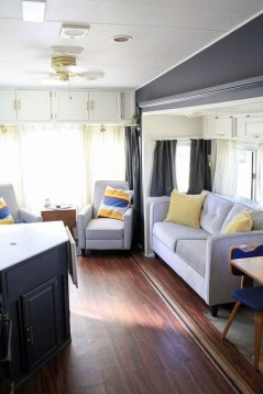 Shabby Chic Trailer Makeover Renovation Ideas16