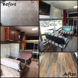 Shabby Chic Trailer Makeover Renovation Ideas19