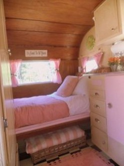 Shabby Chic Trailer Makeover Renovation Ideas34