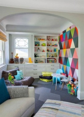 Splendid Diy Playroom Kids Decorating Ideas27