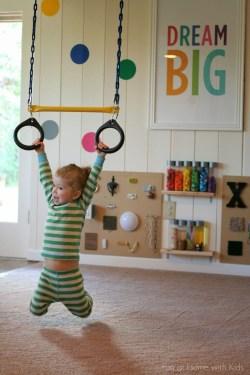Splendid Diy Playroom Kids Decorating Ideas44
