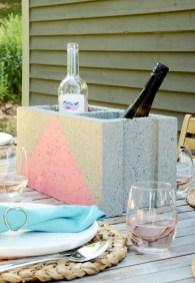 Unique Diy Cinder Block Furniture Decor Ideas03