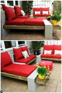 Unique Diy Cinder Block Furniture Decor Ideas31