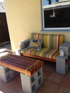 Unique Diy Cinder Block Furniture Decor Ideas33