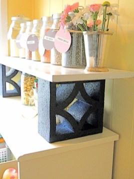 Unique Diy Cinder Block Furniture Decor Ideas34
