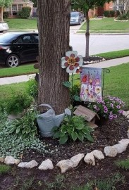 Astonishing Backyard Landscaping Ideas With Flower To Try10