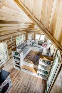 Astonishing Tiny House Design Ideas With Fabulous Storage05