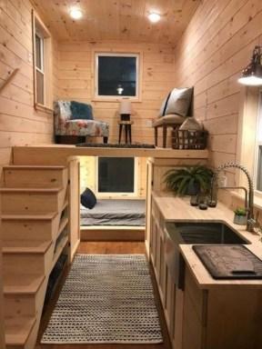Astonishing Tiny House Design Ideas With Fabulous Storage09