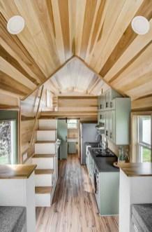 Astonishing Tiny House Design Ideas With Fabulous Storage31