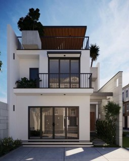 Awesome Small Contemporary House Designs Ideas To Try28