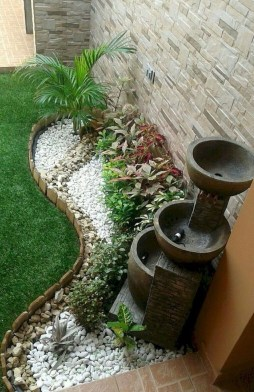 Fascinating Side Yard And Backyard Gravel Garden Design Ideas That Looks Cool06