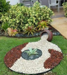 Fascinating Side Yard And Backyard Gravel Garden Design Ideas That Looks Cool12