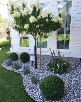 Fascinating Side Yard And Backyard Gravel Garden Design Ideas That Looks Cool17