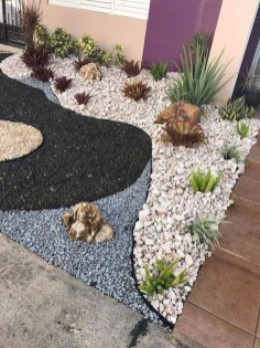 Fascinating Side Yard And Backyard Gravel Garden Design Ideas That Looks Cool22