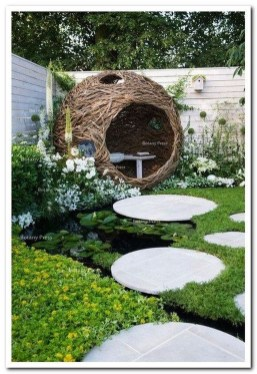 Fascinating Side Yard And Backyard Gravel Garden Design Ideas That Looks Cool26