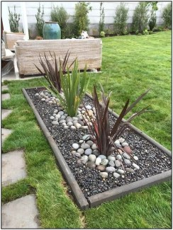 Fascinating Side Yard And Backyard Gravel Garden Design Ideas That Looks Cool31