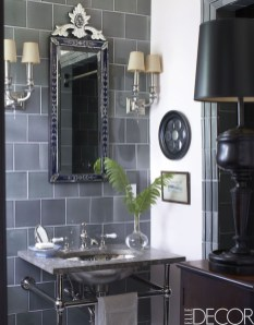 Functionally Decorated Contemporary Powder Rooms12