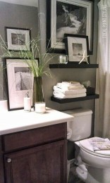 Functionally Decorated Contemporary Powder Rooms37