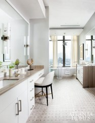Functionally Decorated Contemporary Powder Rooms39
