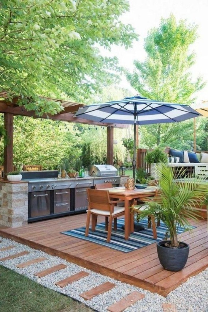 Inexpensive Renovation Tips Ideas For Outdoor Kitchen04