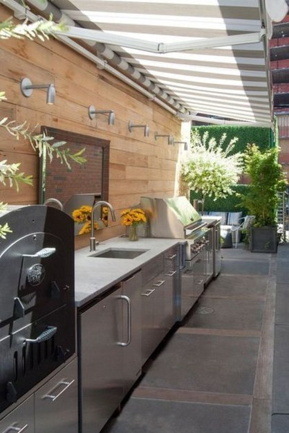 Inexpensive Renovation Tips Ideas For Outdoor Kitchen19
