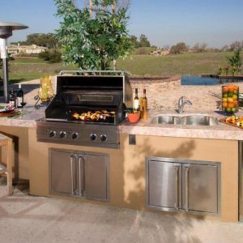Inexpensive Renovation Tips Ideas For Outdoor Kitchen20