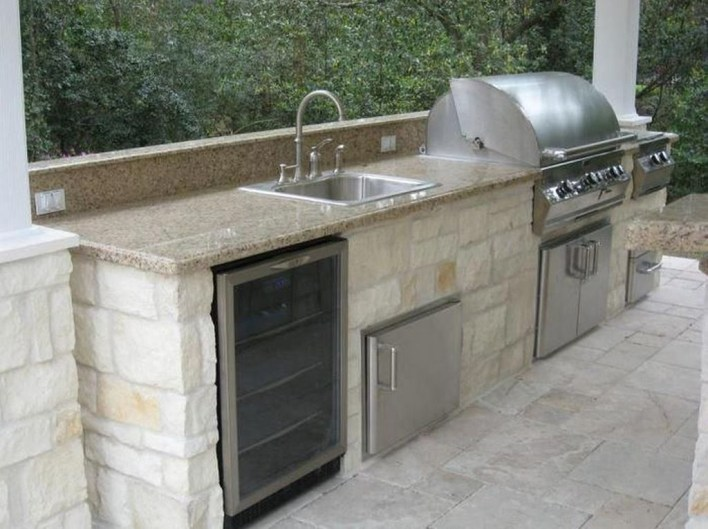 Inexpensive Renovation Tips Ideas For Outdoor Kitchen43