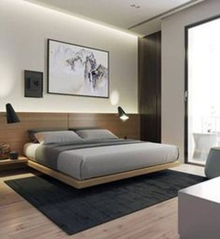 Latest Wall Bedroom Design Ideas That Unique26