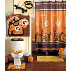 Modern Halloween Decorating Ideas For Your Bathroom13